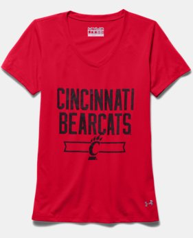 Girls' Cincinnati UA Shimmer T-Shirt
