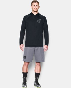 Men's UA Lax Henley Hoodie  1 Color $26.99