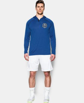 Men's UA Lax Henley Hoodie  1 Color $33.99