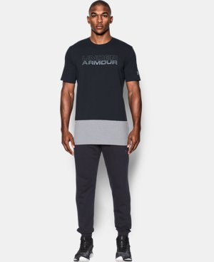 Men's UA Pursuit Block T-Shirt  1 Color $29.99