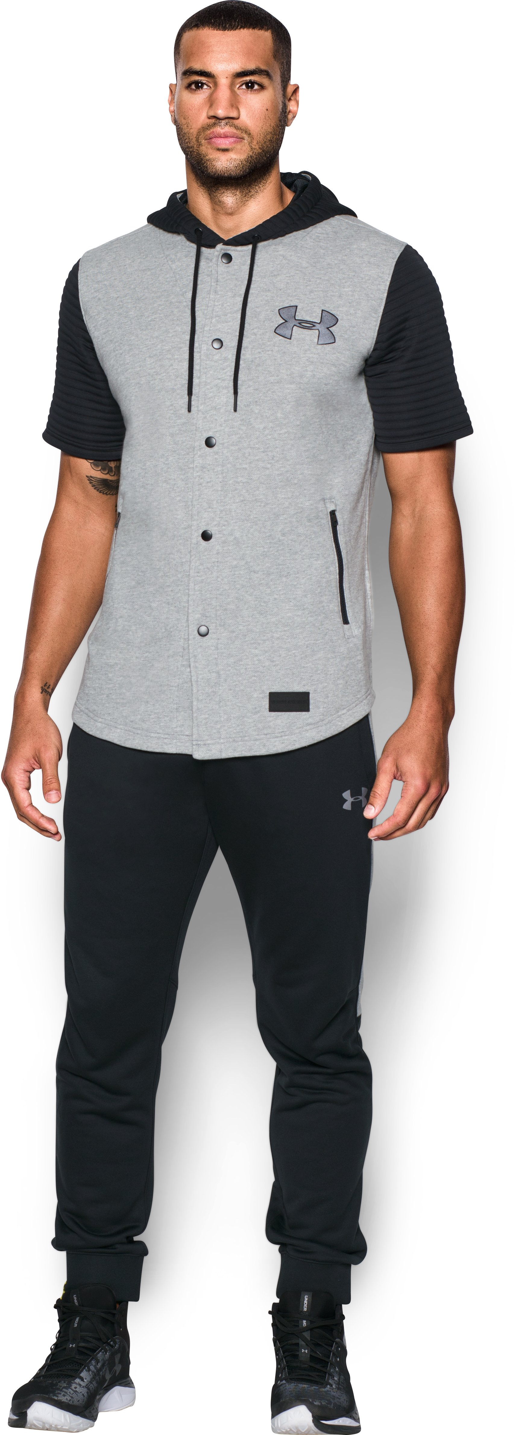 Men's UA Pursuit Jersey, True Gray Heather