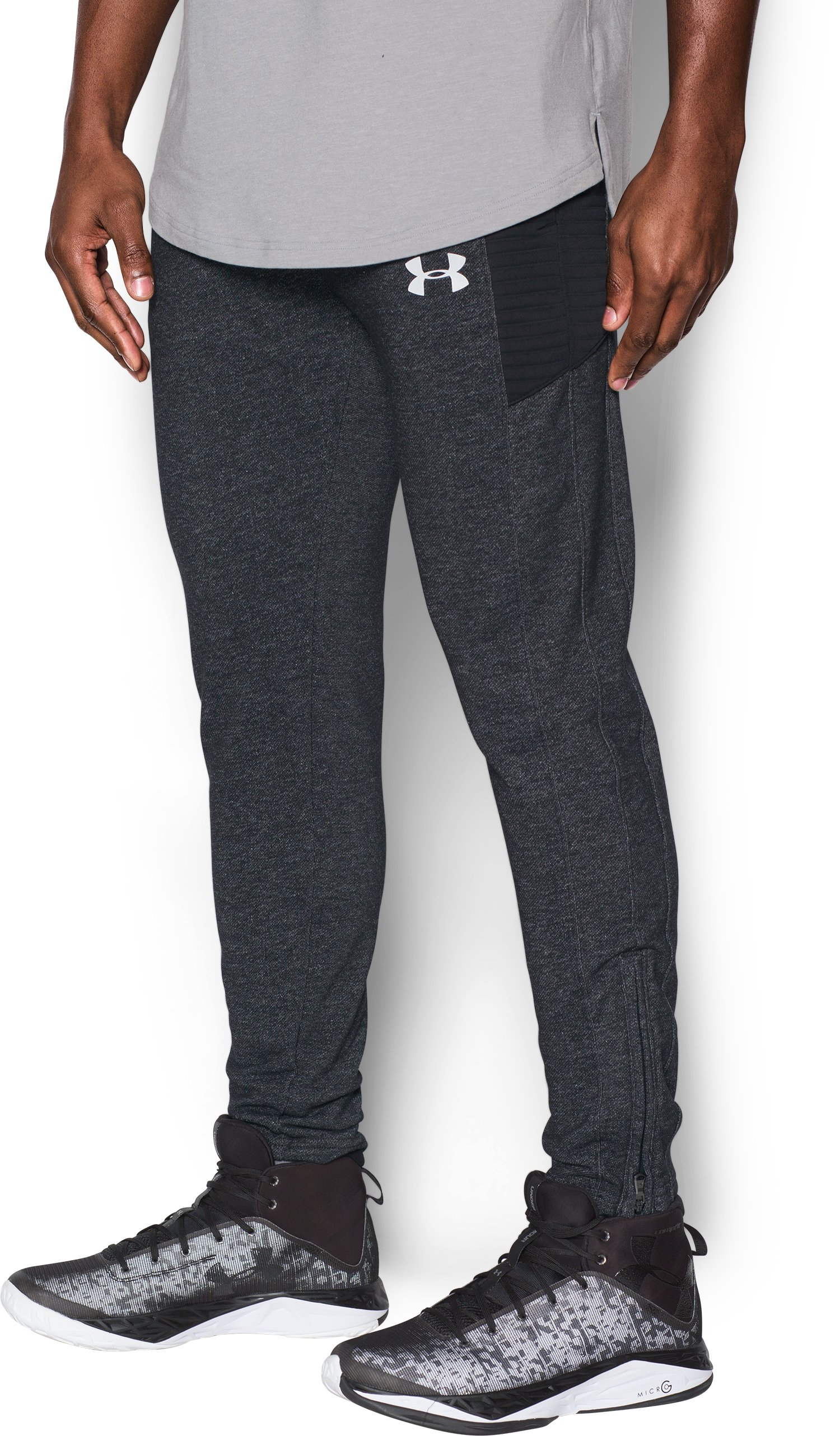 Men's UA Pursuit Tapered Pants, Black