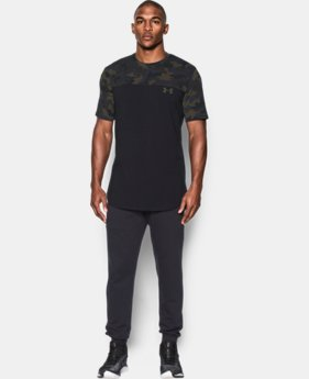 New Arrival  Men's UA Pursuit Camo T-Shirt  1 Color $44.99