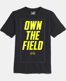 Boys' UA Own The Field T-Shirt