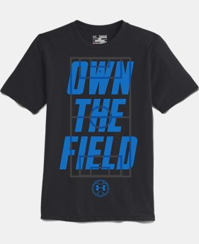 Boys' UA Own The Field Soccer T-Shirt