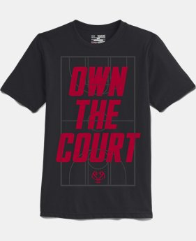 Boys' UA Own The Court T-Shirt