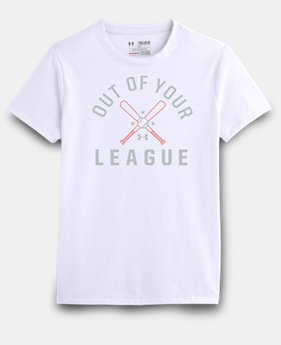 Girls' UA Out Of Your League T-Shirt