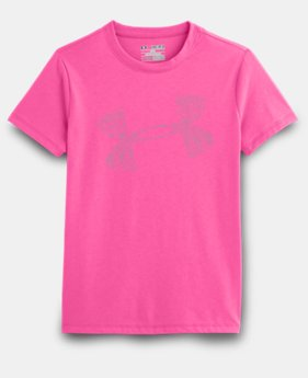 Girls' UA Holiday Logo T-Shirt