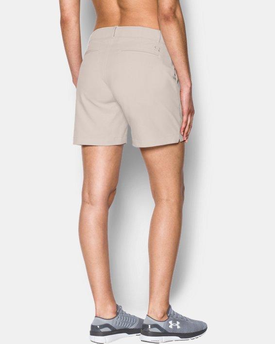 Women's UA Chino Shorts, White, pdpMainDesktop image number 1