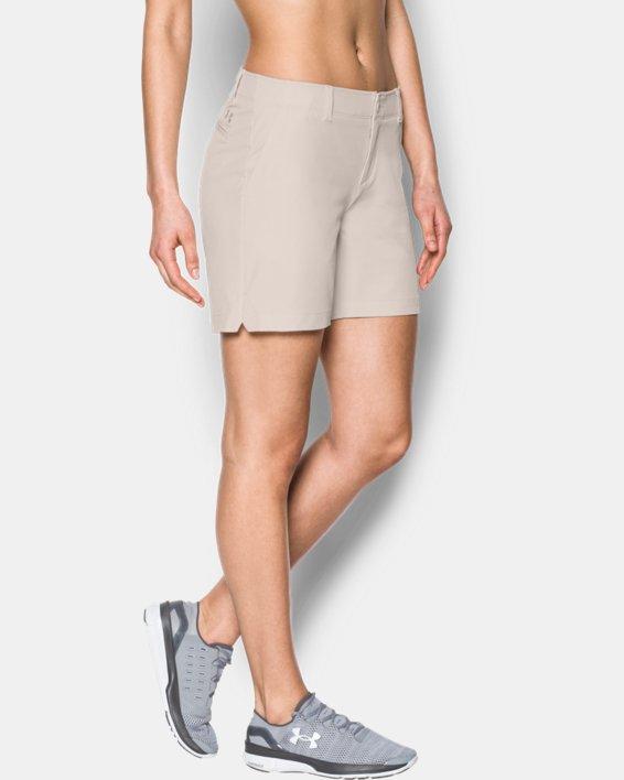 Women's UA Chino Shorts, White, pdpMainDesktop image number 0