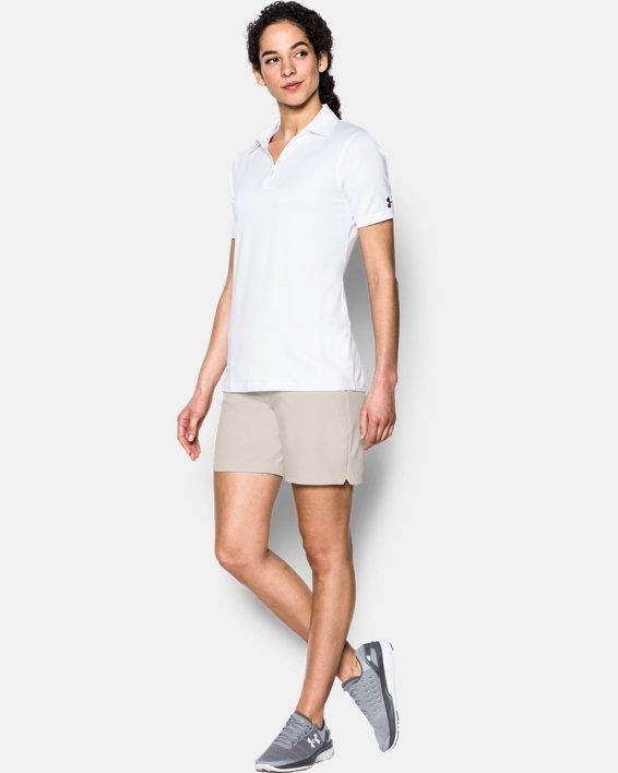 Women's UA Chino Shorts, White, pdpMainDesktop image number 2