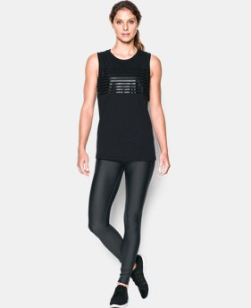 Women's UA Foil Cotton Modal Muscle Tank  1 Color $26.99