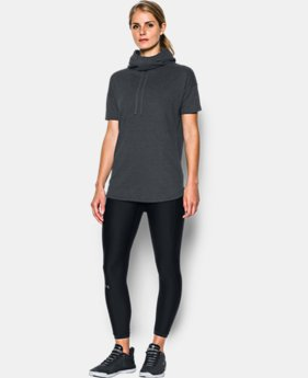 Women's UA Championship Short Sleeve Hoodie  2 Colors $54.99