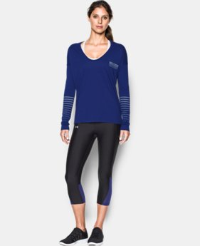 Women's UA Undeniable Long Sleeve LIMITED TIME: FREE U.S. SHIPPING 1 Color $33.99