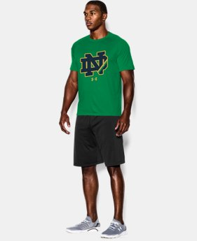 Men's Notre Dame Shamrock Series UA Logo T-Shirt