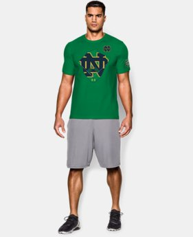 Men's Notre Dame Shamrock Series UA BB Battlefield T-Shirt