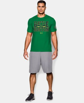 Men's Notre Dame Shamrock Series UA Battle T-Shirt