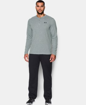 Men's UA ColdGear® Infrared Lightweight Henley  2 Colors $69.99