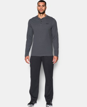 Men's UA ColdGear® Infrared Lightweight Henley LIMITED TIME: FREE U.S. SHIPPING 2 Colors $59.99