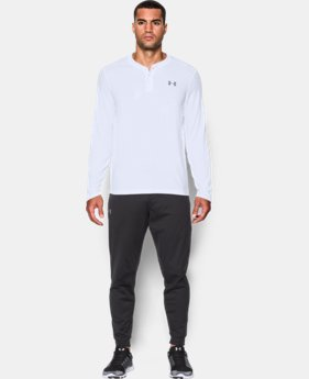 Men's UA ColdGear® Infrared Lightweight Henley  2 Colors $59.99