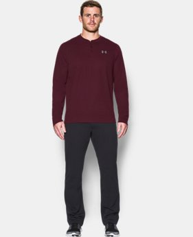 Men's UA ColdGear® Infrared Lightweight Henley  1 Color $52.99