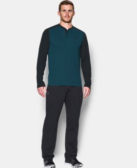 Men's UA ColdGear® Infrared Lightweight Henley  3 Colors $69.99