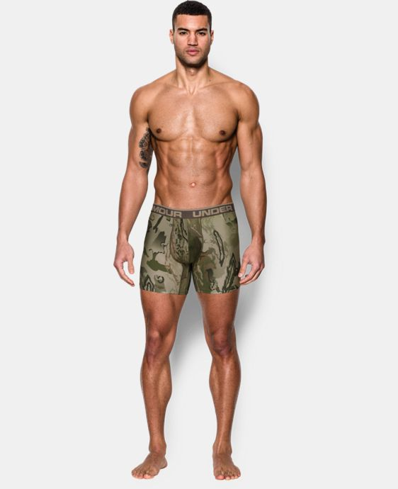 "Men's UA Original Series Camo 6"" Boxerjock® LIMITED TIME: 25% OFF 3 Colors $22.49"