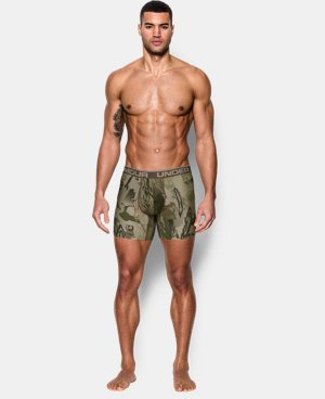 "Men's UA Original Series Camo 6"" Boxerjock® LIMITED TIME: FREE U.S. SHIPPING 3 Colors $22.49"