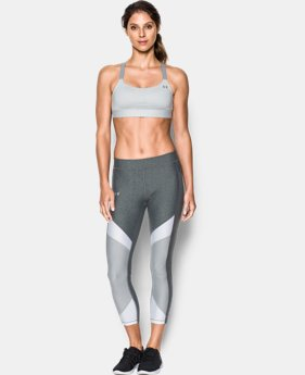Women's Armour® Eclipse Heather Mid Impact Sports Bra  1 Color $33.99