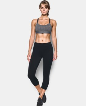 Women's Armour® Shape Heather Mid Impact Sports Bra  3 Colors $33.99