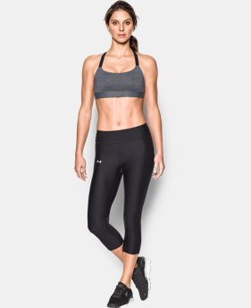 Women's Armour® Shape Heather Mid Impact Sports Bra   $44.99