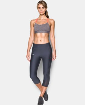 Women's Armour® Eclipse Mid — Heather Sports Bra  1 Color $27.99