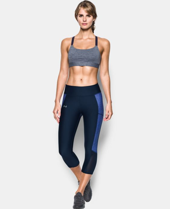 New Arrival  Women's Armour® Eclipse Heather Mid Impact Sports Bra LIMITED TIME: FREE SHIPPING 2 Colors $33.99 to $44.99
