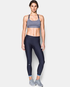 Women's Armour® Eclipse Mid — Heather Sports Bra  2 Colors $39.99
