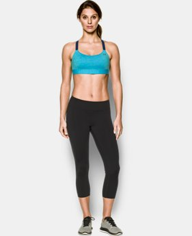 Women's Armour™ Shape Mid — Heather Sports Bra  3 Colors $31.99