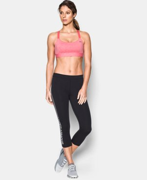Women's Armour™ Shape Heather Mid Impact Sports Bra  1 Color $44.99