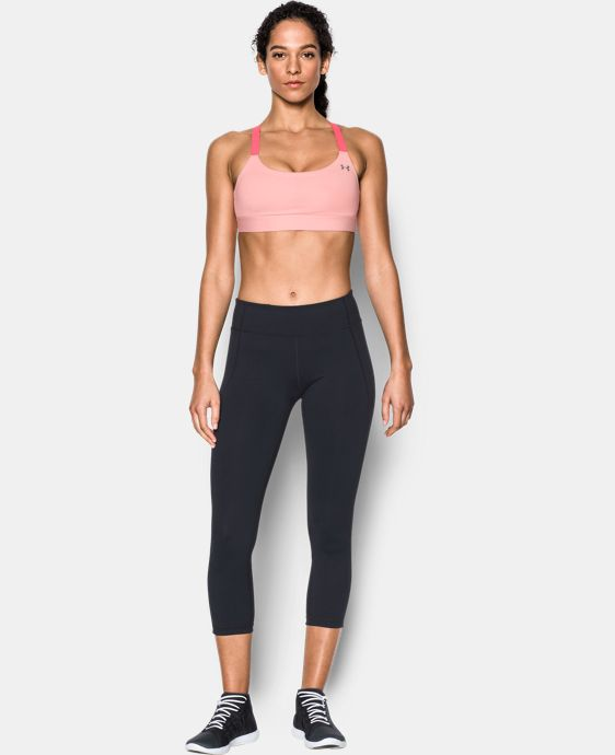 Women's Armour® Shape Heather Mid Impact Sports Bra  1 Color $44.99