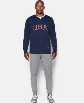 New Arrival Men's UA x Muhammad Ali Cassius Clay Americana ¼ Zip  2 Colors $64.99