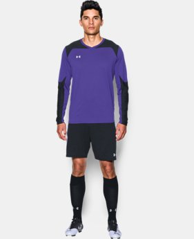 New Arrival Men's UA Threadborne Wall Goalkeeper Jersey   $44.99