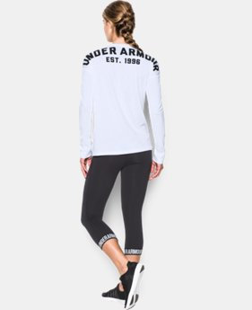 Women's UA Favorite Word Mark Long Sleeve LIMITED TIME: FREE SHIPPING 1 Color $49.99