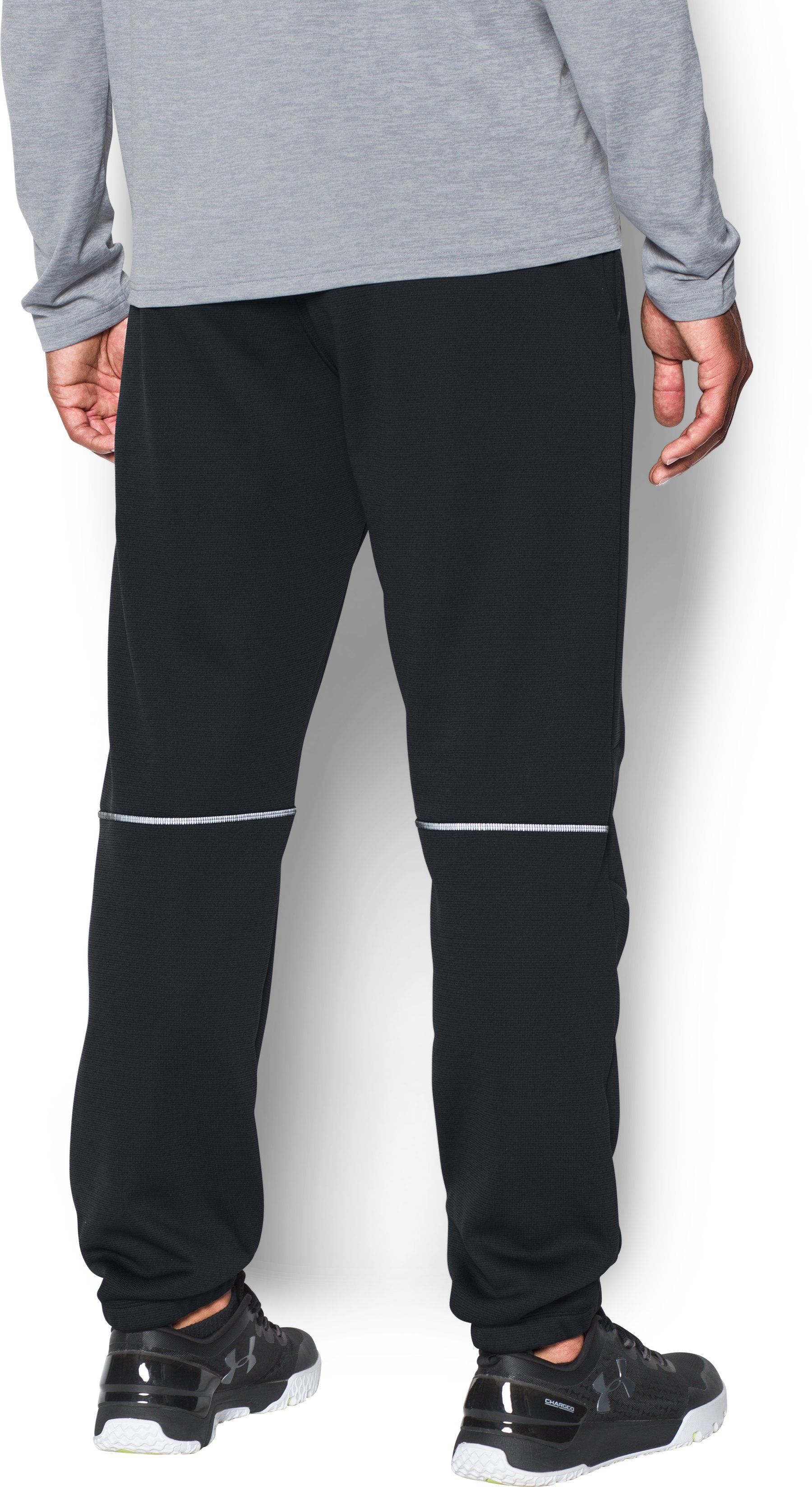 Men's UA Storm Swacket Pants, Black , undefined