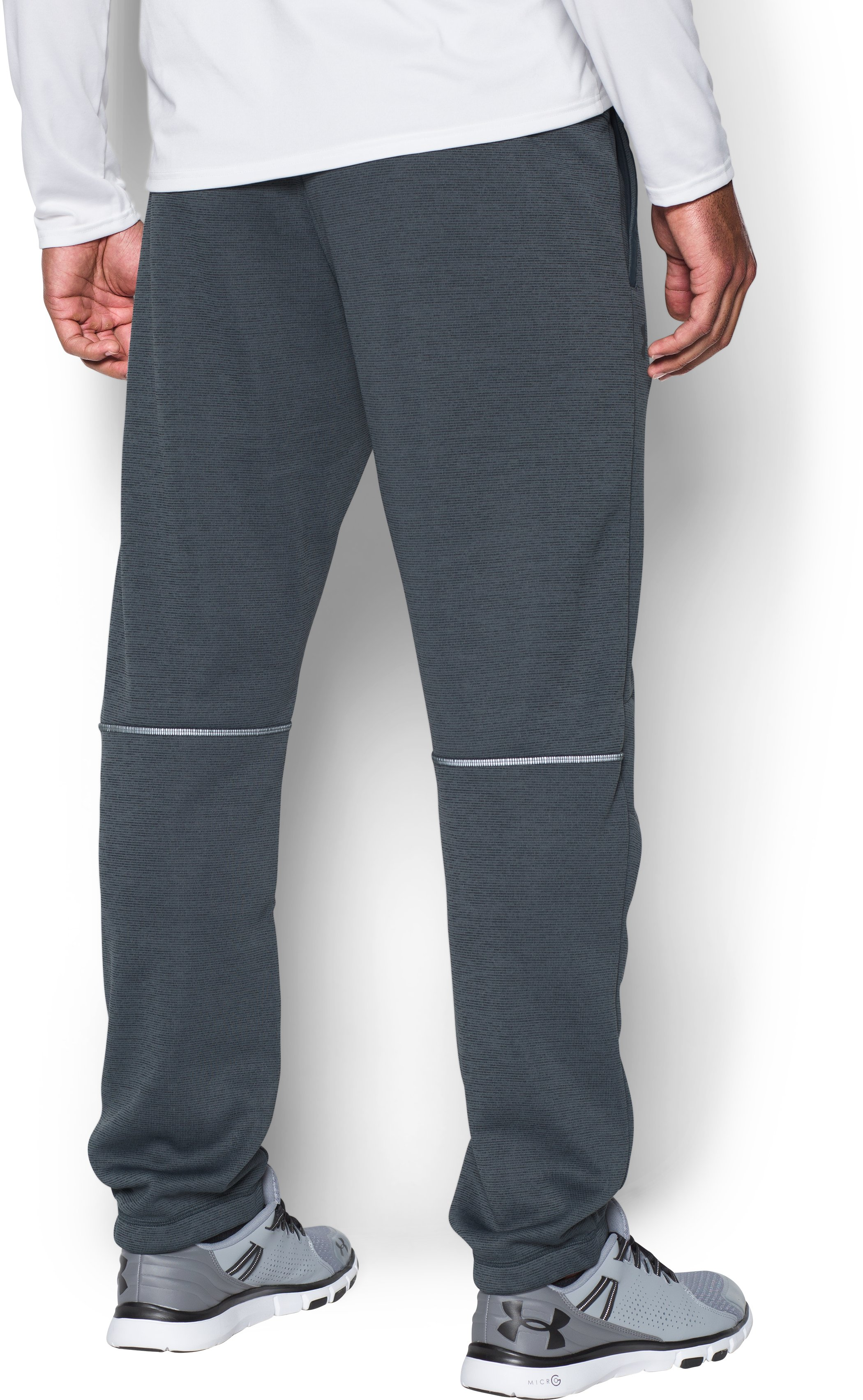 Men's UA Storm Swacket Pants, STEALTH GRAY,
