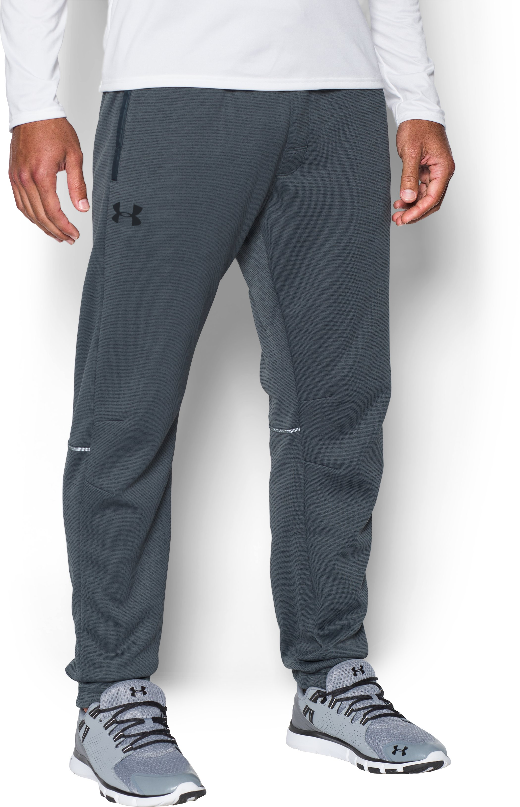 Men's UA Storm Swacket Pants, STEALTH GRAY