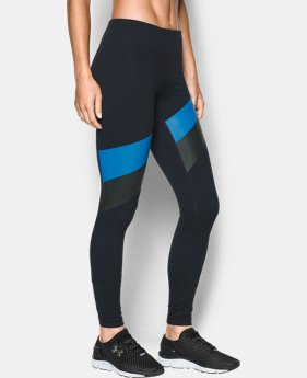 Women's UA Mirror Stripe Legging LIMITED TIME: FREE SHIPPING 1 Color $84.99