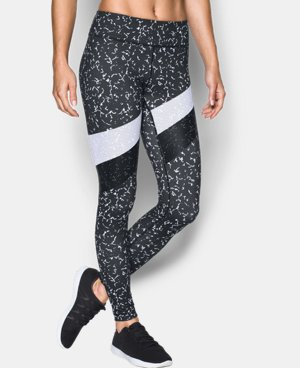 New Arrival  Women's UA Mirror Marble Stripe Legging  1 Color $84.99