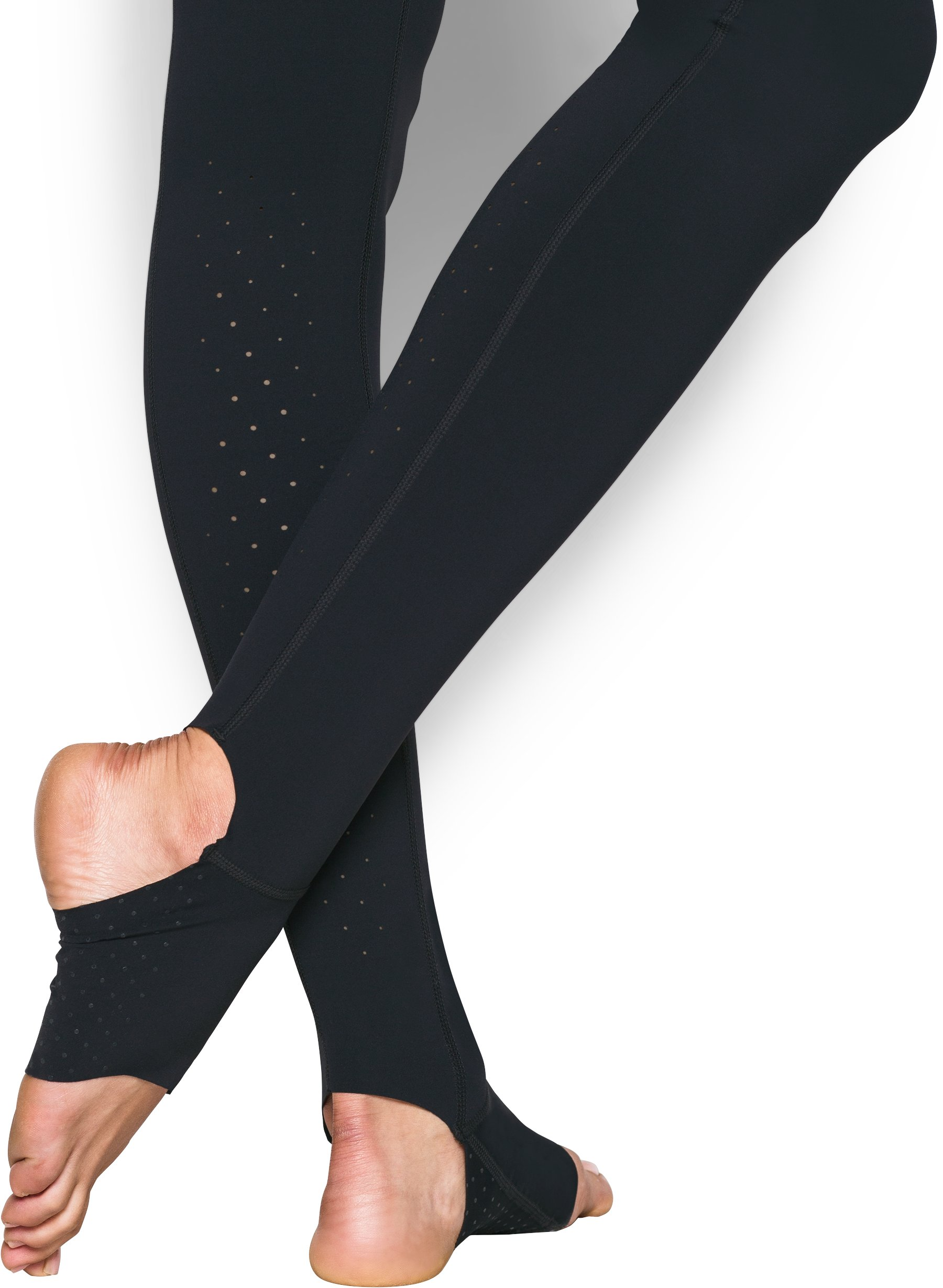 Women's UA Mirror Free Cut Stirrup Legging, Black
