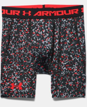 Boys' UA HeatGear® Armour Up Printed Shorts