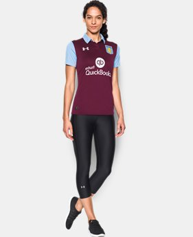 Women's Aston Villa Replica Home Jersey  1 Color $45