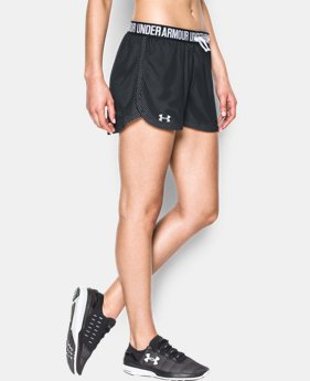 Women's UA Play Up Mesh Short