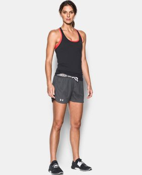 New Arrival  Women's UA Play Up Mesh Short  1 Color $26.99